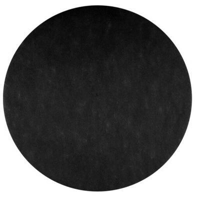 Set de table rond noir (x50) REF/2812