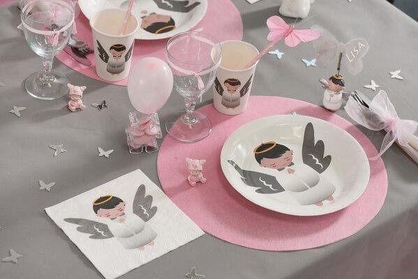 Set de table rose 2