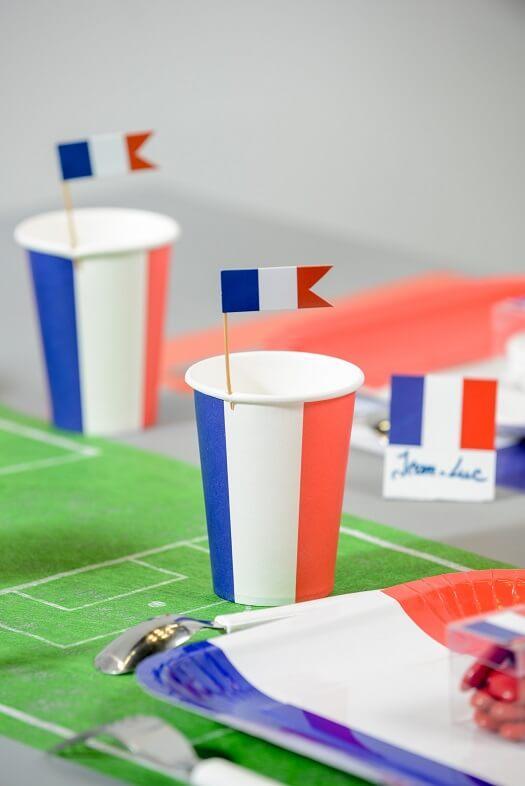 Set de table terrain de football