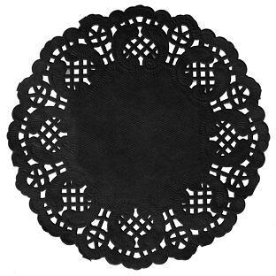 Sous verre dentelle: Ardoise (x10) REF/5054