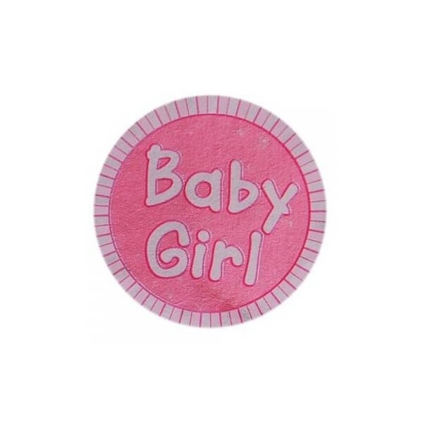 Sticker bebe rose