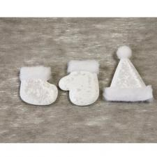 Stickers de Noël blanc (x3) REF/DEC831