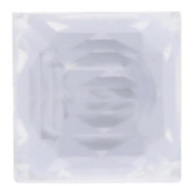 Strass carrée autocollante transparente (x48) REF/4113