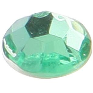 Strass diamant autocollant vert