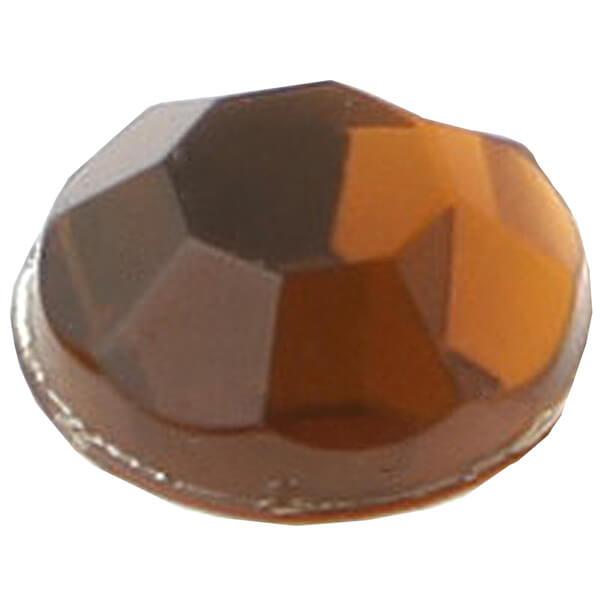 Strass diamant autocollante chocolat