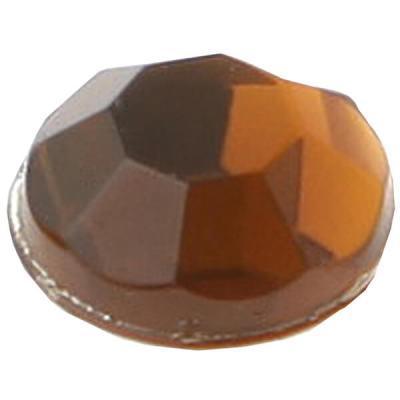 Strass diamant autocollant: Chocolat (x160) REF/3885