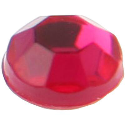 Strass diamant autocollant: Fuchsia (x160) REF/3885