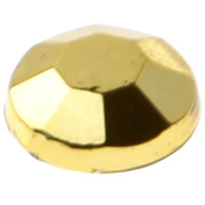 Strass diamant autocollant: Or (x160) REF/3885