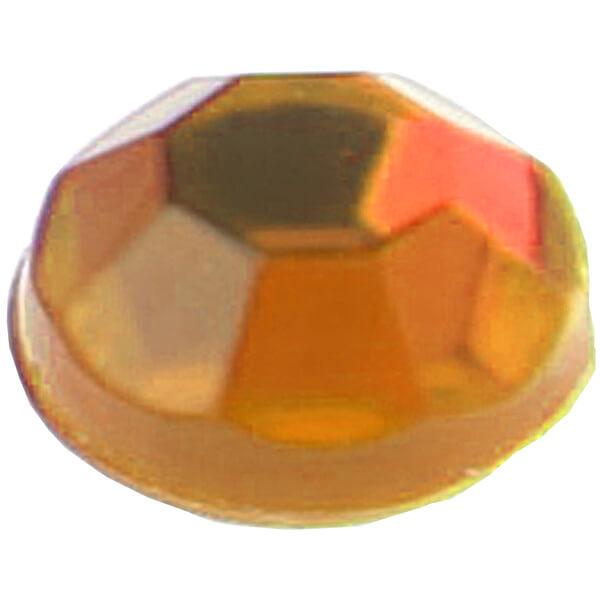 Strass diamant autocollante orange