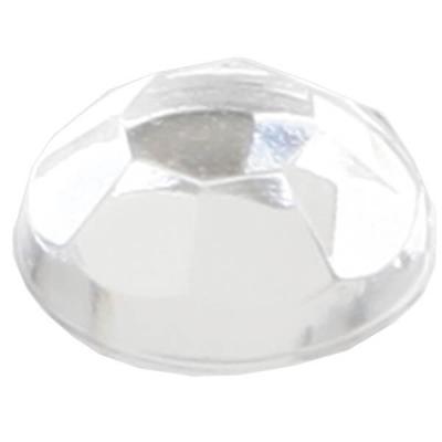 Strass diamant autocollant: Transparent (x160) REF/3885