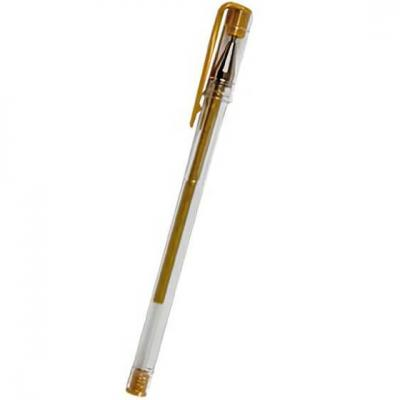 Stylo avec gel doré pailleté (x1) REF/SPBOR