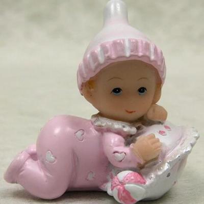 Sujet bébé fille Pénélope (x2) REF/RES813CF