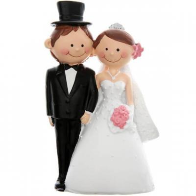 Figurine mariage: Mr & Mrs (x1) REF/4937