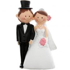 Figurine mariage: Mr & Mrs (x1) REF/4937