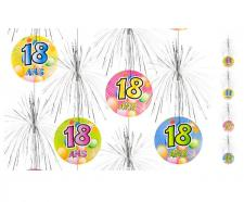 Suspension cascade anniversaire 18ans (x1) REF/AA1011PP/18