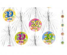 Suspension cascade anniversaire 20ans (x1) REF/AA1011PP/20