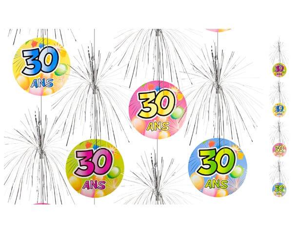 Suspension cascade anniversaire 30ans 1