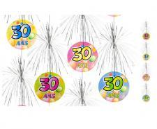 Suspension cascade anniversaire 30ans (x1) REF/AA1011PP/30