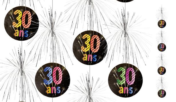 Suspension cascade anniversaire 30ans