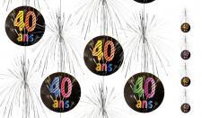 Suspension cascade anniversaire 40ans (x1) REF/AA2011CH/40