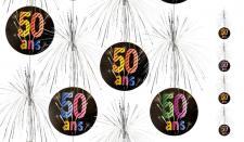 Suspension cascade anniversaire 50ans (x1) REF/AA2011CH/50