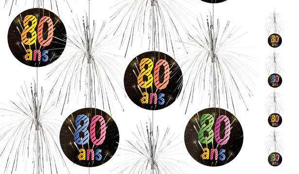 Suspension cascade anniversaire 80ans
