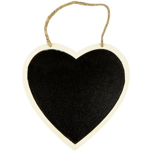 Suspension coeur ardoise