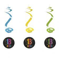 Suspension spirale anniversaire 18ans (x4) REF/AA2010CH/18