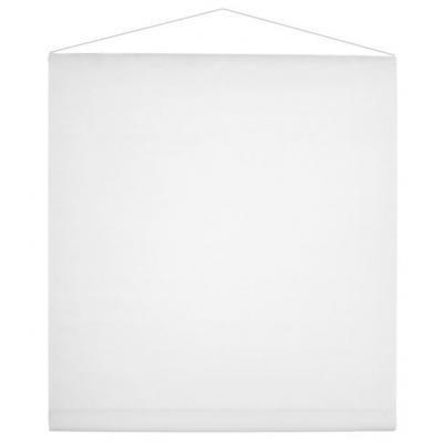 Tenture décorative de salle blanche 80cm x 12m (x1) REF/2933
