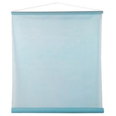 Tenture décorative de salle bleu ciel 80cm x 12m (x1) REF/2933