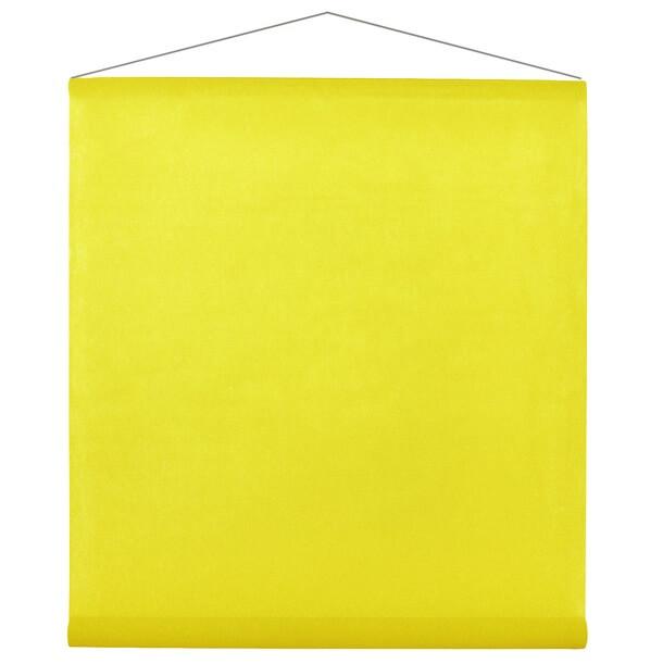 Tenture mariage jaune