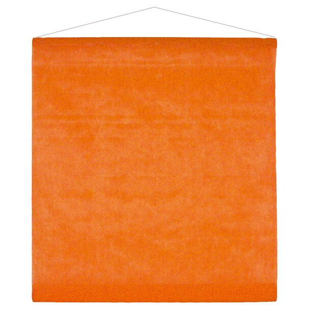 Tenture mariage orange
