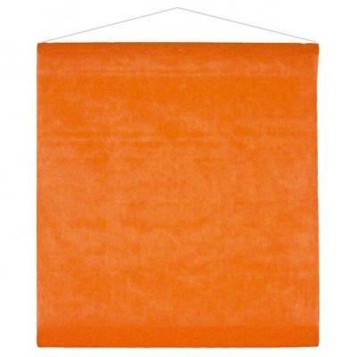 Tenture décorative de salle orange 80cm x 12m (x1) REF/2933