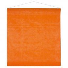 Tenture de salle orange 80cm x 12m (x1) REF/2933