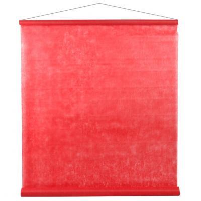 Tenture décorative de salle rouge 80cm x 12m (x1) REF/2933