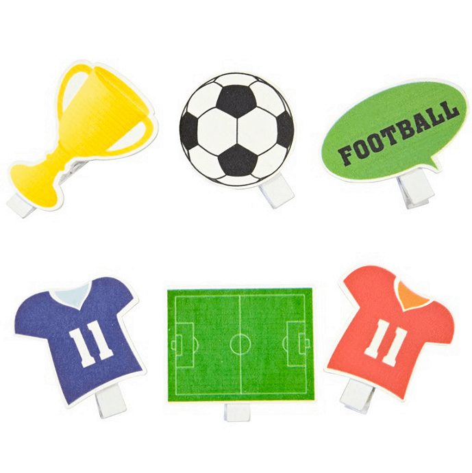 Theme football sur pince