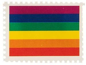 Timbre arc-en-ciel (x50) REF/4186