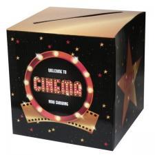 Tirelire cinéma en carton (x1) REF/6638