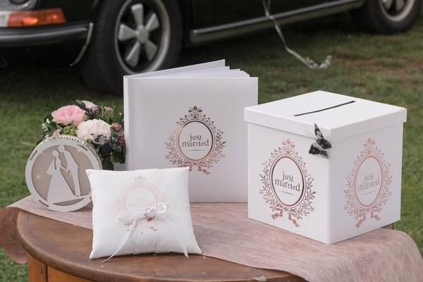 Tirelire decorative de mariage