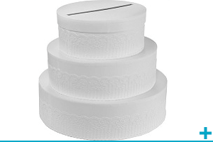 Tirelire et urne mariage tendance