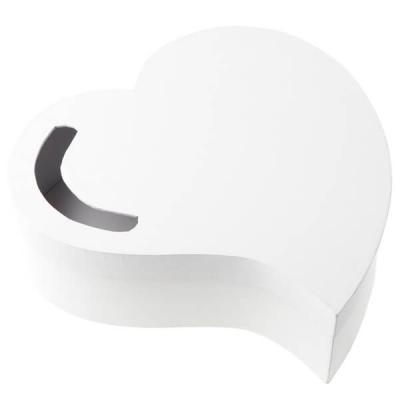 Tirelire urne coeur de mariage élégante blanche (x1) REF/3841