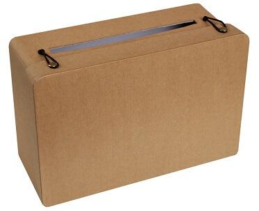 Tirelire valise kraft (x1) REF/5092