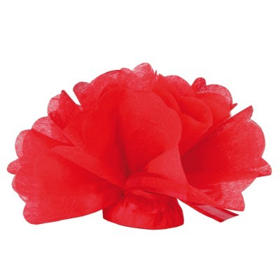 Tulle intisse rouge 1