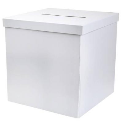 Tirelire / Urne blanche 20cm (x1) REF/2911