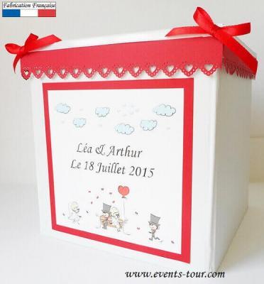 Urne mariage: Cartoon love (x1) REF/10084