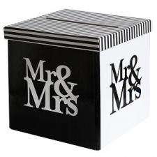 Tirelire mariage Mr et Mrs (x1) REF/5178