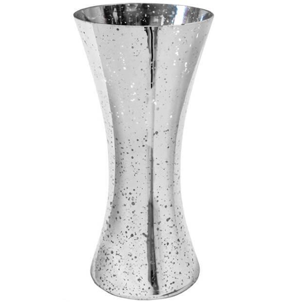 Vase cintre argent metallise