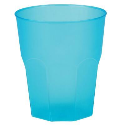 Verre cocktail givré bleu turquoise 35cl (x6) REF/63875