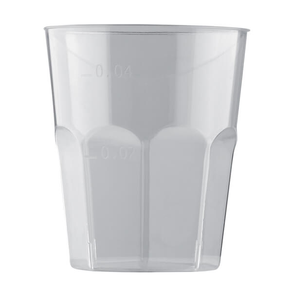 Verre a liqueur transparent