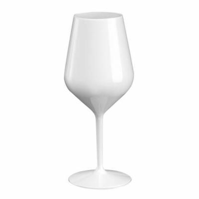 Verre à pied blanc Tritan incassable de 47cl (x6) REF/65000